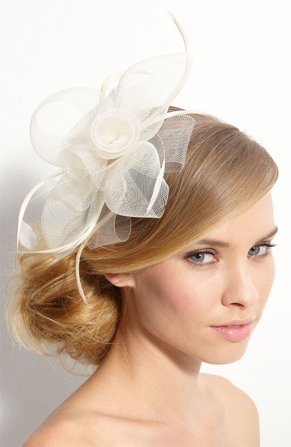 124 best images about Wedding Hair on Pinterest  Pink fascinator Kate middleton and Hats