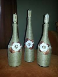 10+ images about Wine Bottle Decorations on Pinterest ...