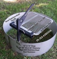 25+ best ideas about Steel Fire Pit Ring on Pinterest