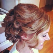 soft curly #prom #updo #hairstyle