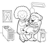 Dibujos De Oficios Y Profesiones Para Niños Para Colorear