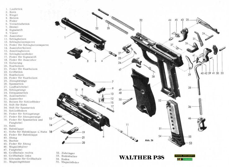 17 Best images about WEAPONS: FIREARMS DIAGRAMS on