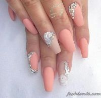 105 best images about Coffin Nail Art Ideas on Pinterest