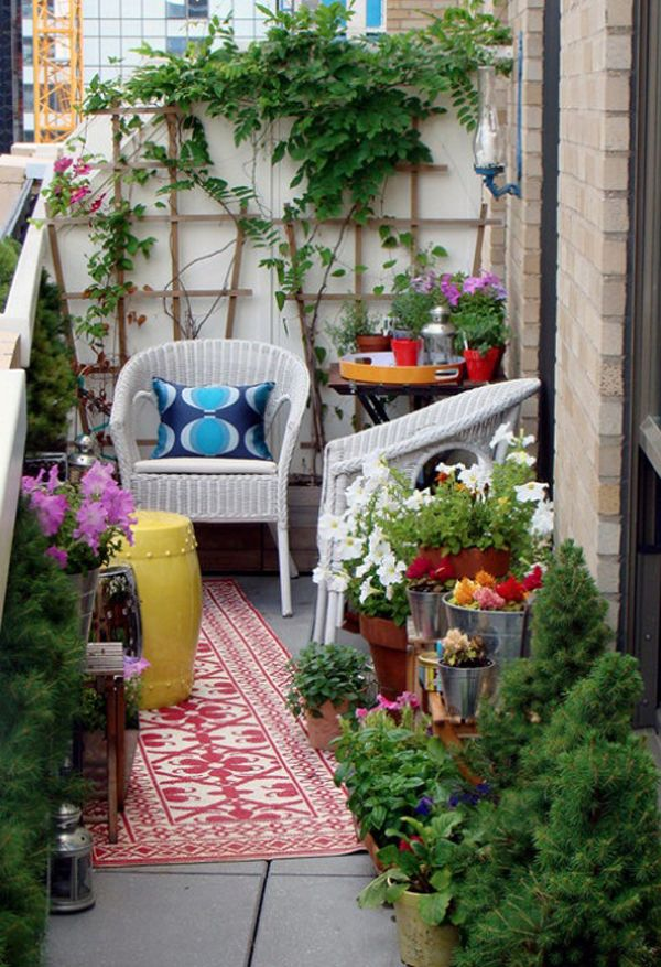 839 Best Images About How To Decorate A Small Urban Balcony On