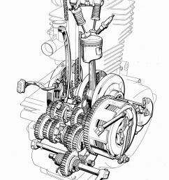 1000 images about motorcycle engines and blueprints on [ 736 x 1073 Pixel ]