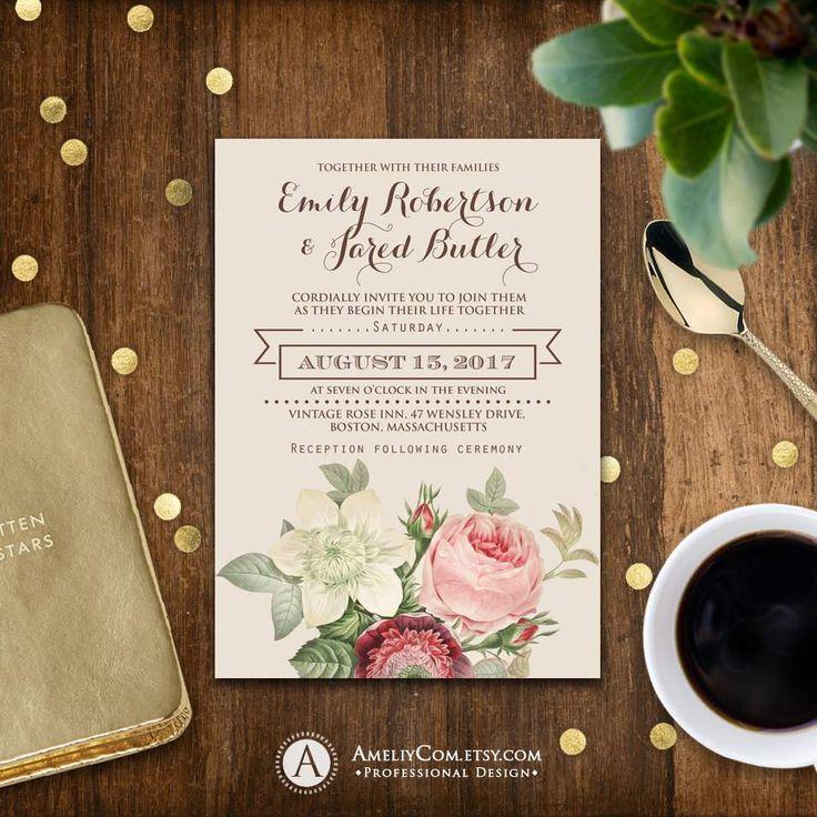 Printable Wedding Invitations Uk