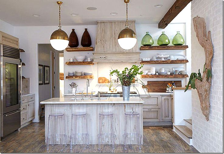 Pecky Cypress Cabinets Open Shelving Arteriors Hicks