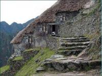 A home, literally built into the mountain ...