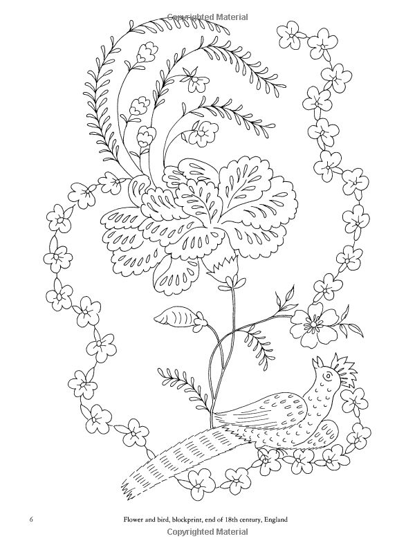 Traditional Floral Designs and Motifs for Artists and