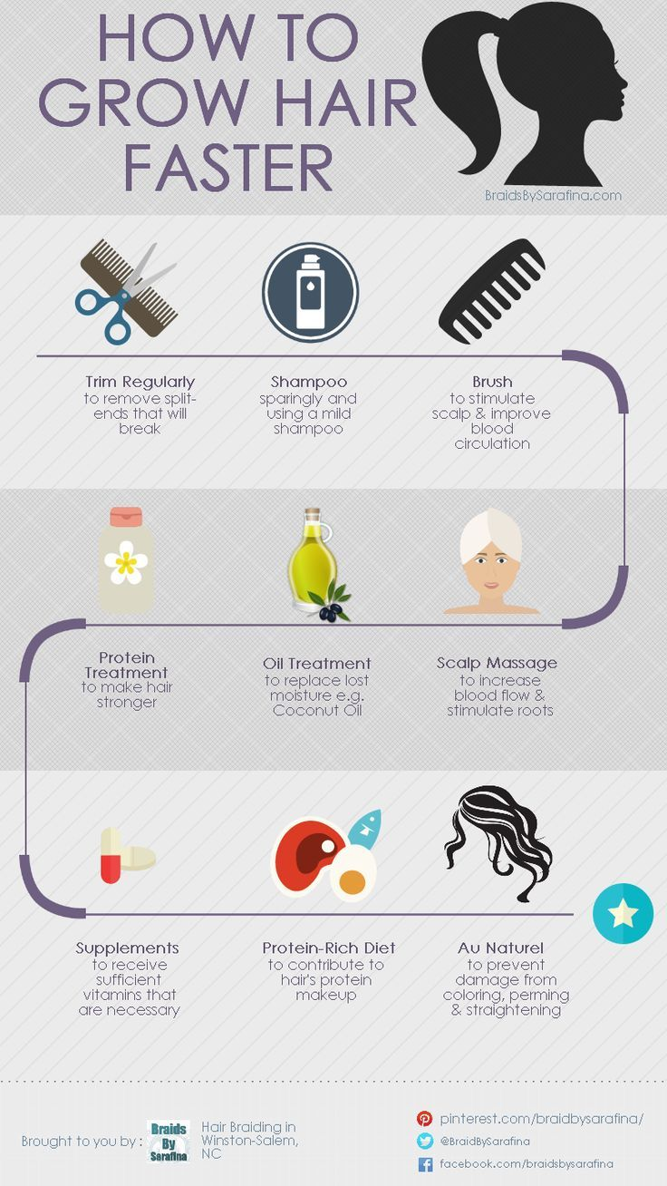 17 Best ideas about Tips To Grow Hair on Pinterest