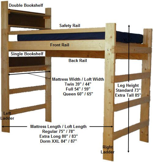 Best 25+ Dorm loft beds ideas on Pinterest
