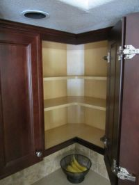 Blind Corner Wall Cabinet - WoodWorking Projects & Plans