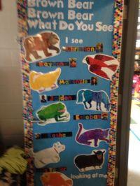 Brown bear classroom door | Eric Carle | Pinterest | Doors ...