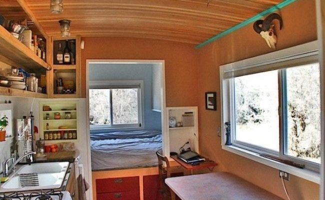 12 Best Images About No Loft Mobile Tiny Houses On
