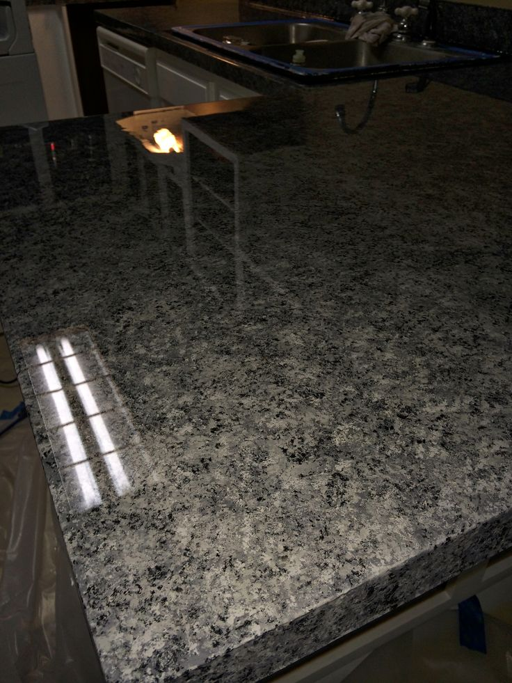 resurface kitchen countertops temporary epoxy countertop coating #epoxy #resin #coating | ...