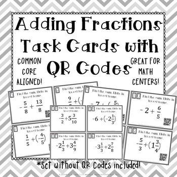 Best 20+ Adding fractions ideas on Pinterest
