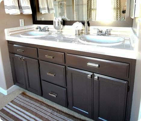 Builder grade Vanities and Cabinets on Pinterest