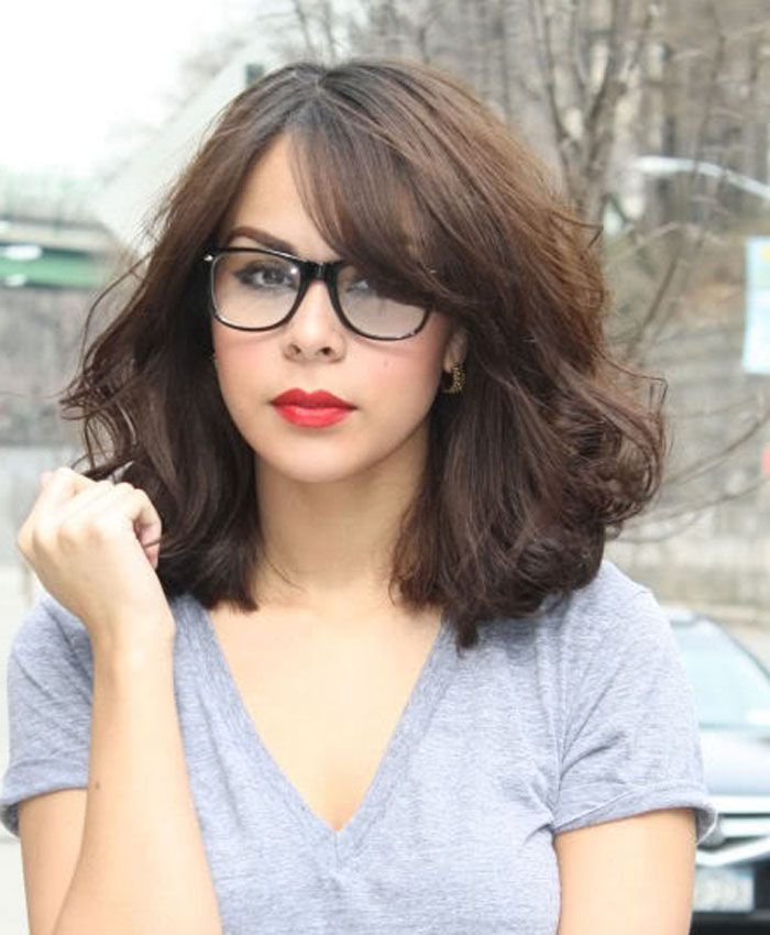 25 Best Ideas About Bangs And Glasses On Pinterest Blunt Bangs