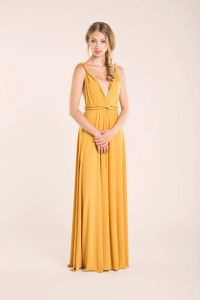 25+ best ideas about Mustard bridesmaid dresses on ...