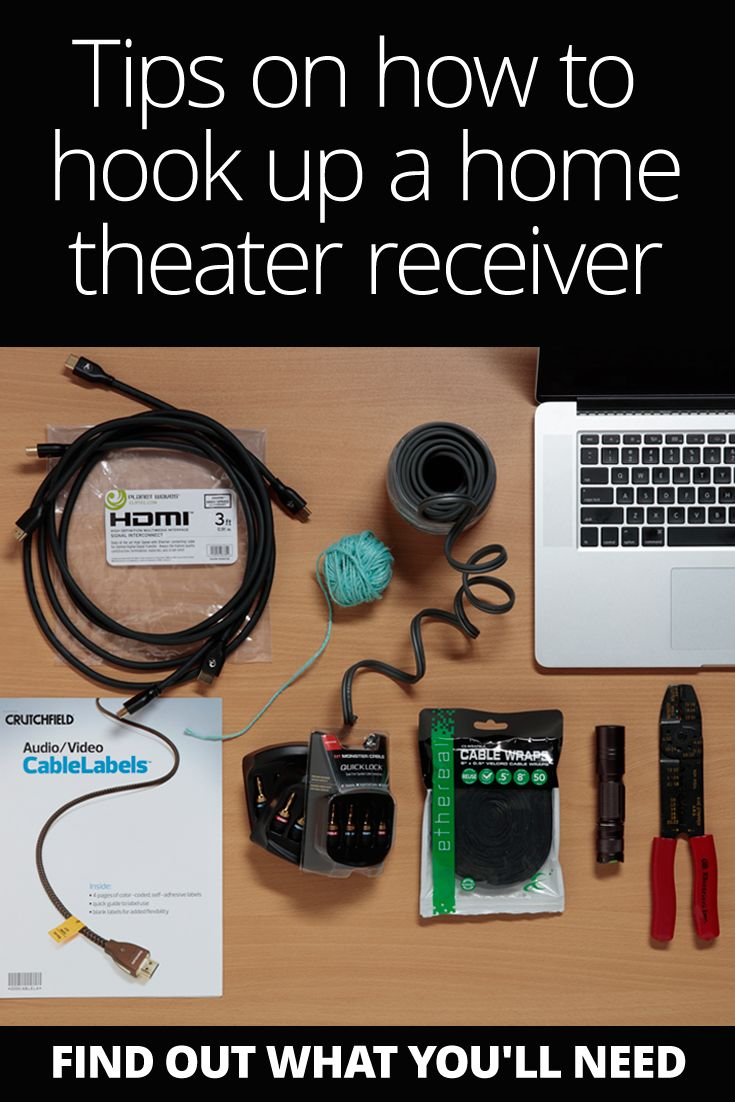 Home Theater Setup Installation Hook Up Guide W Diagram
