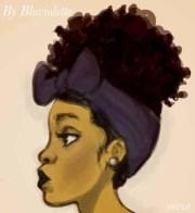 natural hair art ideas