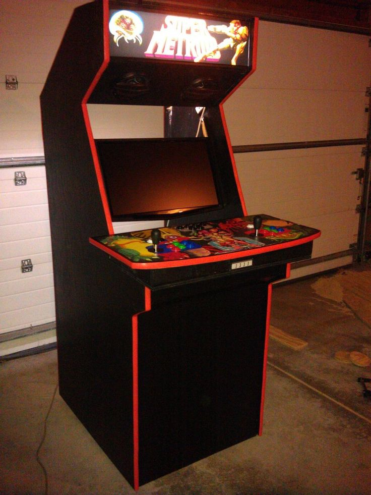 LCD widescreen arcade cabinet  MAME Cabinets  Pinterest