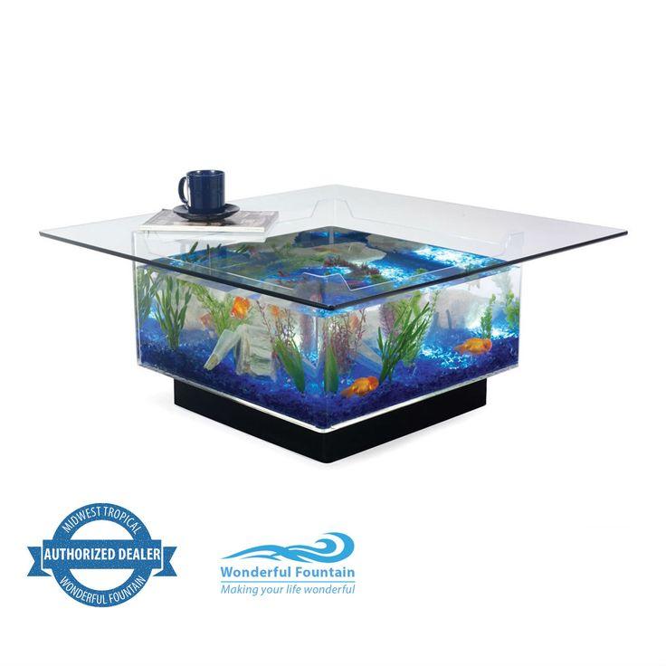 The 25+ best Fish tank coffee table ideas on Pinterest