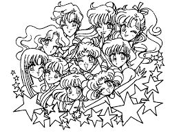 231 best images about Sailor Moon Coloring Pages on