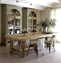 25+ best ideas about Rustic dining room tables on