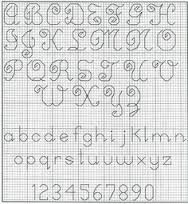 25+ best images about backstitch alphabets on Pinterest