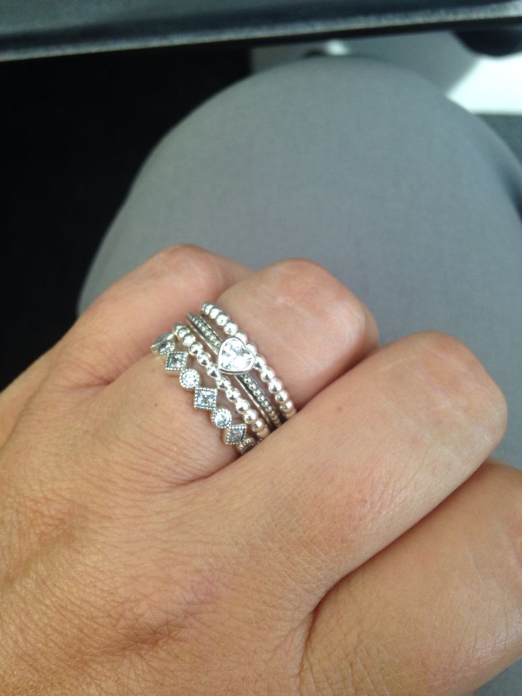 1000 ideas about Pandora Rings Stacked on Pinterest  Pandora rings Pandora and Pandora jewelry