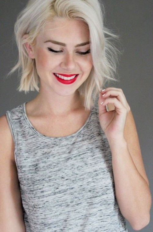 25 Best Ideas About Chin Length Hairstyles On Pinterest Long