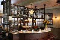 Back Bar Idea - Window Frames and Metal Shelves | Old ...