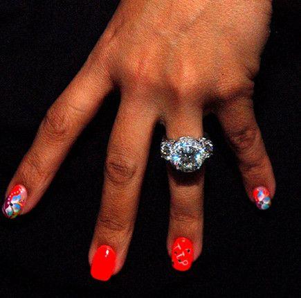 Tinys Wedding Ring DIAMONDS R FOREVER Pinterest