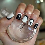 ideas chanel nails