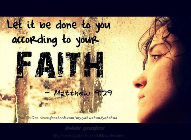Free Christian Quotes Wallpaper Matthew 9 29 It Is Done Unto You As You Believe Lord