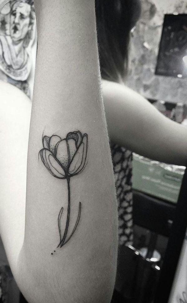 tulip tattoo ideas