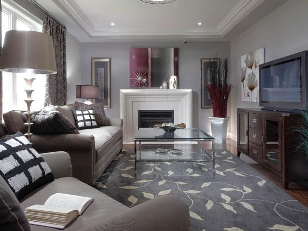 Narrow Living Room With Fireplace Decorating Ideas