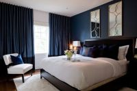 Navy Bedroom Walls Jane Lockhart Bedroom With Dark Navy ...