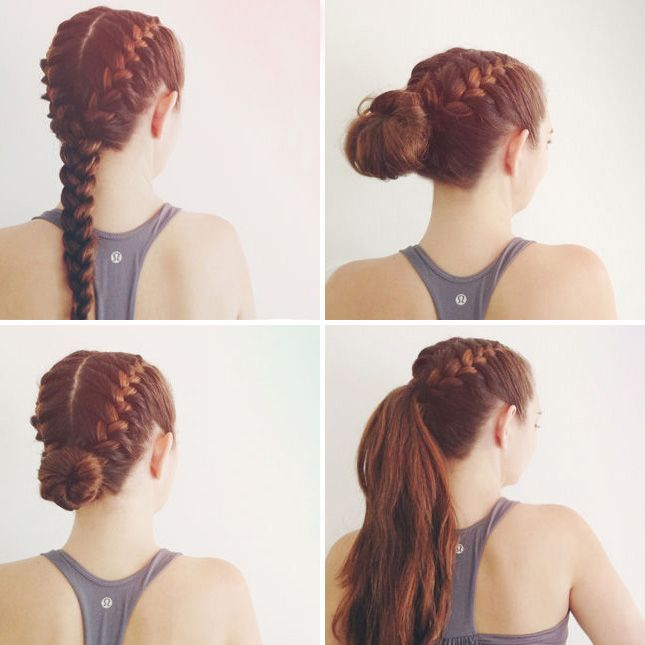 25 Best Ideas About Active Hairstyles On Pinterest Workout Hair