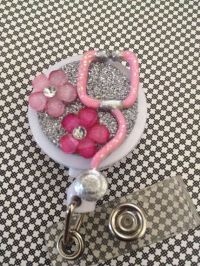 Retractable ID Badge Holder Stethoscope Nurse by SPalos on ...