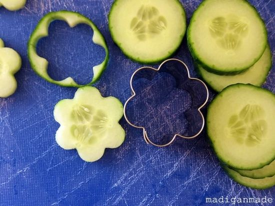 Use a cookie cutter to make