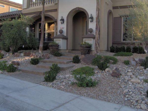 hardscape front yard