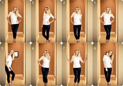 flattering poses for a female -: