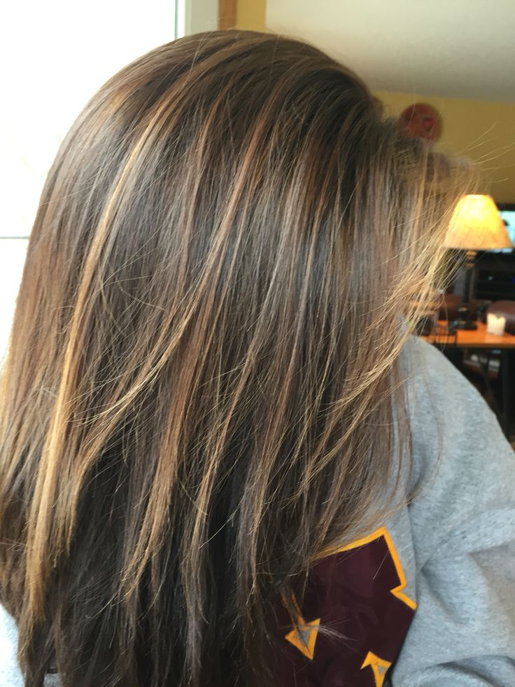 25+ best ideas about Brunette highlights summer on