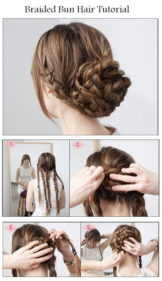 108 Best Images About Easy N Beautiful Hairstyles On Pinterest
