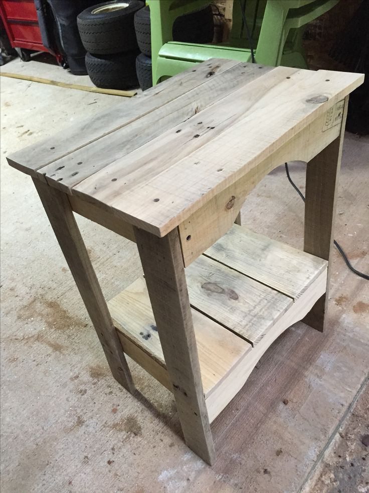 25+ Best Ideas about Pallet End Tables on Pinterest