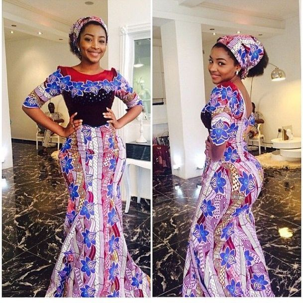 Stylish Ankara Mix Match With Lace Styles 2017 Beautiful