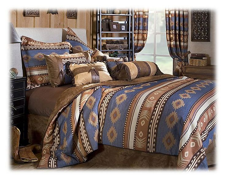 Sierra Bedding Collection  Comforter Set  Shops Products and Bass pro shop