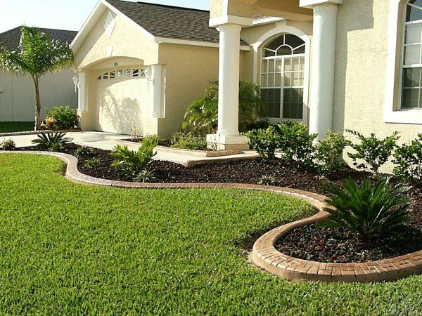 landscape ideas front of house